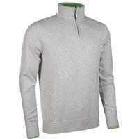 Glenmuir Mens Clarke Zip Neck Sweater