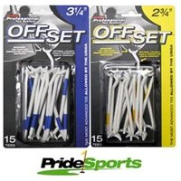 Pride Offset Plastic Tees 15 Blister Pack