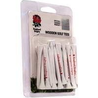 England Rugby Club Wooden Tees 30 Pack
