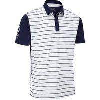 Stuburt Mens Hydro-Sport Stripe Polo Shirt