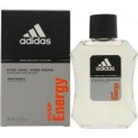 Adidas Deep Energy Aftershave 100ml Splash
