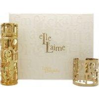 Lolita Lempicka Elle L'aime Gift Set 80ml EDP + Golden Bracelet