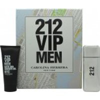 Carolina Herrera 212 VIP Men Gift Set 100ml EDT + 100ml B/S Gel