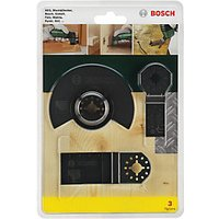 Bosch 3 Piece Multi-cutter Accessories Set