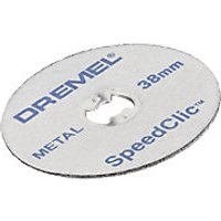 Dremel Speedclic Metal Cutting Wheel Pack of 5