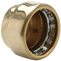 Wickes Copper Pushfit Stop End 22mm