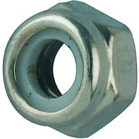 Wickes Self Locking Nuts M6 Pack 10