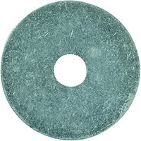 Wickes Round Washers M6x30mm Pack 8