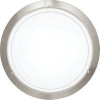 Eglo Planet Wall and Ceiling Light Brushed Chrome Small