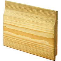 Wickes Rebated Shiplap Cladding 14.5x119x2400mm PK4