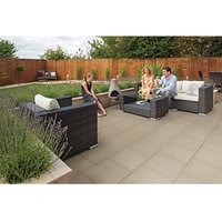Marshalls Wildwood Coarse Sycamore 450x450x35 Paving Slab Pack of 60