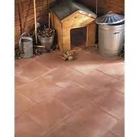 Marshalls Richmond Smooth Red 450x450x32 Paving Slab Pack of 64