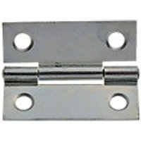 Wickes Butt Hinge Zinc Plated 51mm 20 Pack