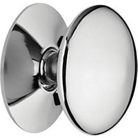 Wickes Victorian Knob Chrome 30mm 4 Pack