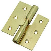 Wickes Right Hand Rising Butt Hinge 76mm 2 Pack