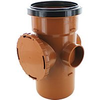 Wickes 110mm Access Pipe Spigot Tail