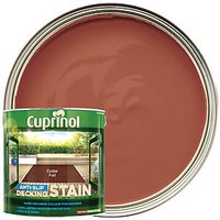 Cuprinol Anti-slip Deck Stain Cedar Fall 2.5L