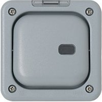 MK 1G Switch Enclosure With Neon For Any Switch & Any Module