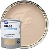 Wickes Contract Matt Emulsion Paint Cappuccino 5L