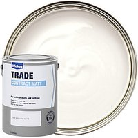 Wickes Contract Matt Emulsion Paint White 5L