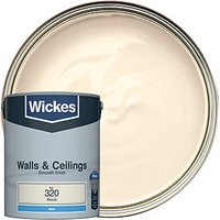 Wickes Colour @ Home Vinyl Matt Emulsion Paint Biscuit 5L