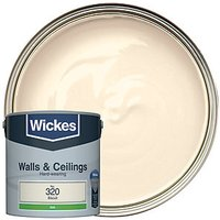 Wickes Colour @ Home Vinyl Silk Emulsion Paint Biscuit 2.5L