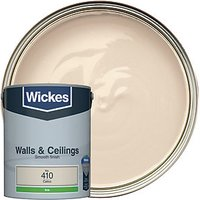 Wickes Colour @ Home Vinyl Silk Emulsion Paint- Calico 5L