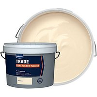 Wickes Trade Emulsion Paint for New Plaster Magnolia 15L