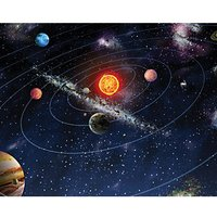 ohpopsi Solar System Wall Mural Multi Large