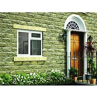 Wickes Timber Casement Window White 1195x1195 LH Side Hung & Top Hung Lite