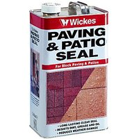 Wickes Paving & Patio Seal 5L Clear