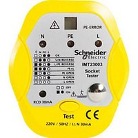 Schneider Socket Tester With RCD Test Facility