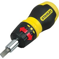 Stanley Stubby Ratchet Multi-bit Screwdriver