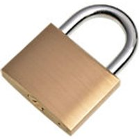 Wickes Padlock Brass 50mm