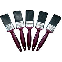 Wickes Trade Synthetic Paint Brush Set 38mm 5 Pack