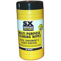 Siroflex Multi Purpose Cleaning Wipes Pack 80