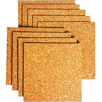 Wickes Sealed Cork Flooring Tile 305 x 305mm Pack 9