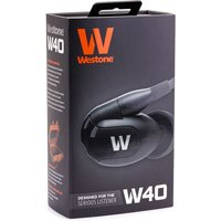 Westone W40 Quad Driver Earphones with built-in mic and removable cable (Box opened)