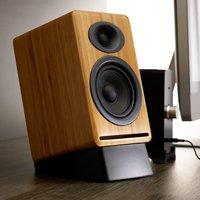 Audioengine DS2 Desktop Speaker Stands Large Black