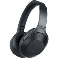 Sony MDR-1000X Bluetooth Noise Cancelling Headphones Colour BLACK