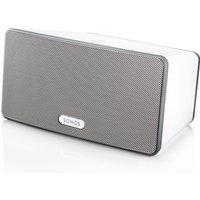 SONOS PLAY:3 Wireless HiFi System - Immersive HiFi Sound. Serious room-filling power Colour White