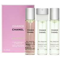 Chanel Chance Eau Fraiche EDT Spray 3 x 20ml Refills  women