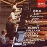 Bach: Concertos for 3 and 4 Keyboards