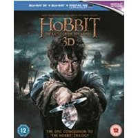 The Hobbit: The Battle of the Five Armies (Blu-ray 3D + Blu-ray) (Region Free)