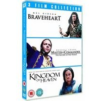 Braveheart/ Master and Commander: The Far Side of the World/ Kingdom of Heaven - Triple Pack