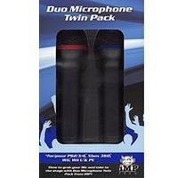 Universal Duets Twin USB Microphone Pack (PS4/Xbox One/Xbox 360/PS3/PC DVD)
