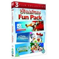 All Dogs Christmas Carol/The Pebble And The Penguin/Ice Age : A Mommoth Christmas