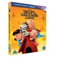 Snoopy And Charlie Brown The Peanuts Movie [Blu-ray 3D + Digital HD UV]