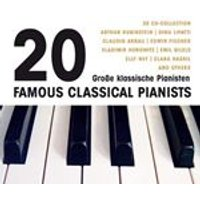 20 Famous Classical Pianists (Music CD)