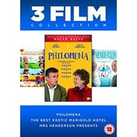Philomena / The Best Exotic Marigold Hotel / Mrs Henderson Presents - 3 Film Collection